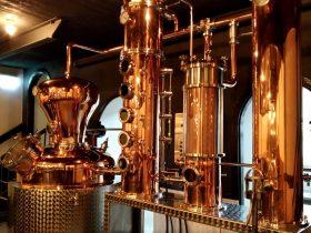 copper gin distillery