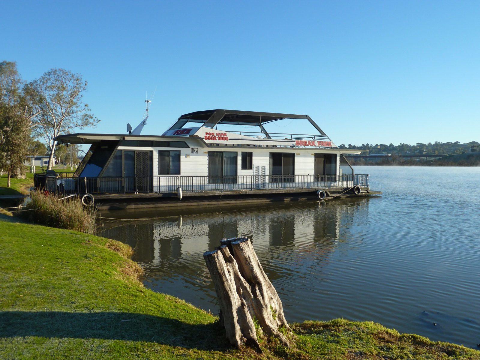 Break Free houseboat