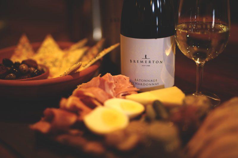 Chardonnay, olives, winery, produce