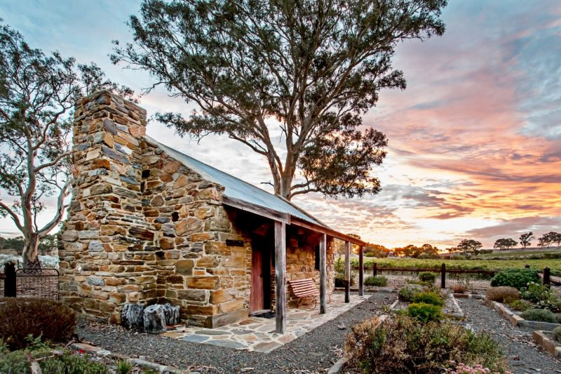 Brockenchack Vineyard's lovingly restored original stone Coach House