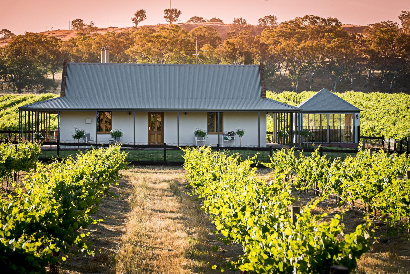 Brockenchack Vineyard Bed & Breakfast is set amongst the vines in Eden Valley