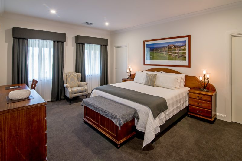 Each Master Suite contains a luxurious king size bed, ensuite and walk in wardrobe