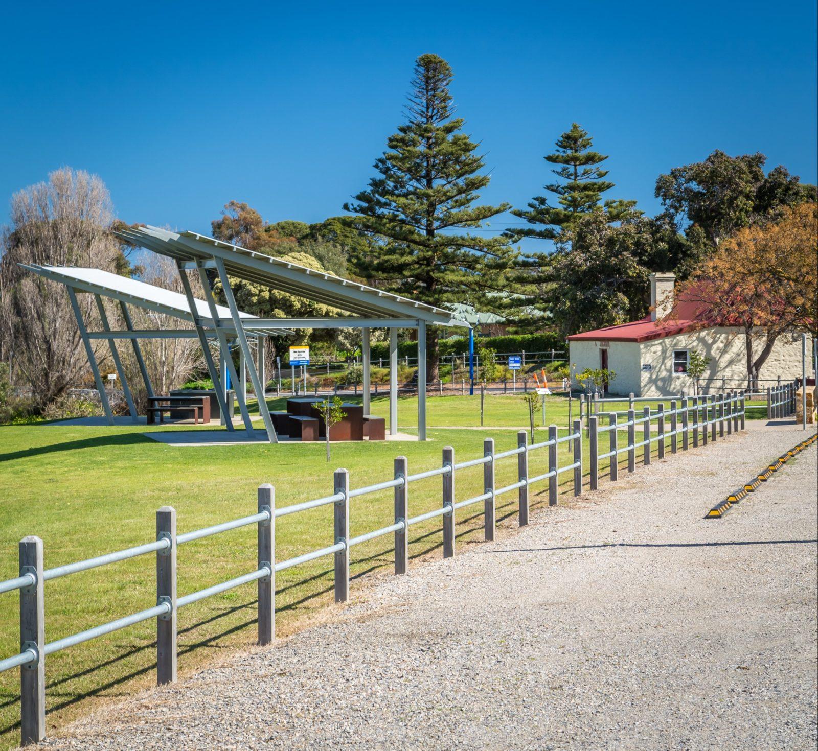 Bungala park shelter, Normanville