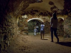 Visit the Unicorn Brewery Cellars as part of the Burra Heritage Passport