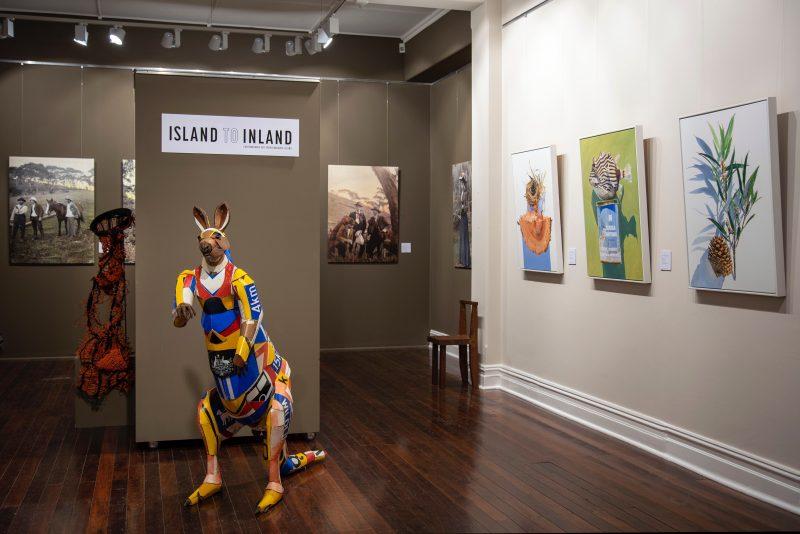 Island to Inland - contemporary art from Kangaroo Island is a Country Arts SA & Flinders University