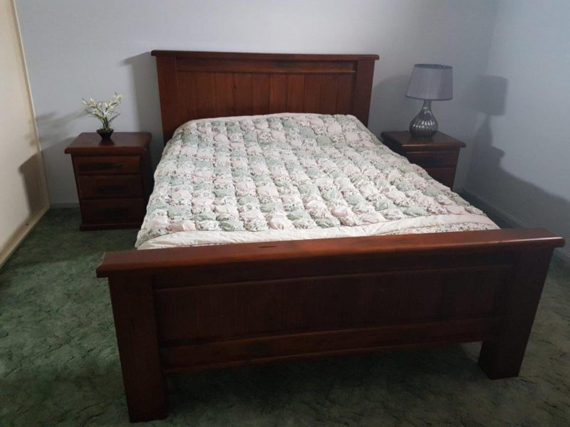 Bed one