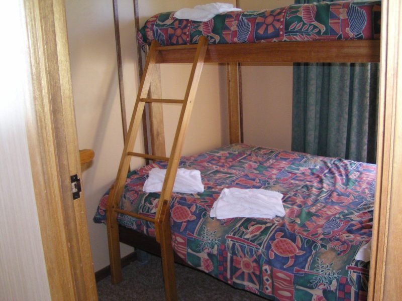 Single over double bed