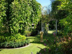 Camelot Garden Stroll in Springtime