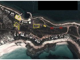 MAP Point Lowly Marina Camping Areas