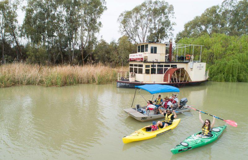 Dinghy Cruises plus kayak hire