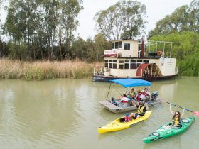 Kayak hire & Dinghy Cruises