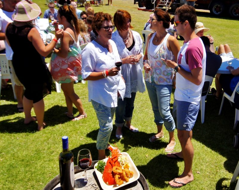 seafood extravaganza at the Cape Jaffa Seafood and Wine Fest