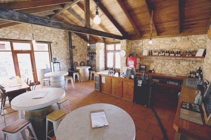 Inside Cape Jaffa Wines Cellar Door