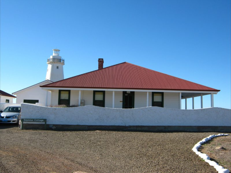 Cottage and Lighthouse