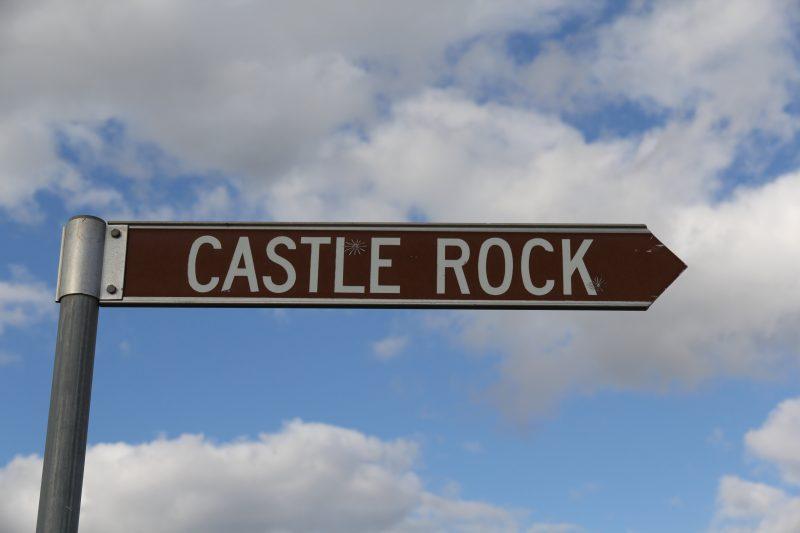 Castle Rock Sign