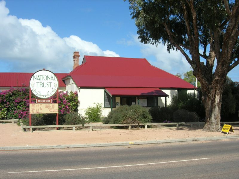 Ceduna School house museum built in 1912 was also the first post office and gaol