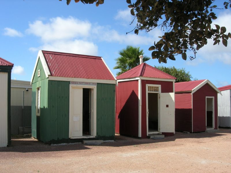Ceduna school museum built in 1912 was also the first post office and first gaol.