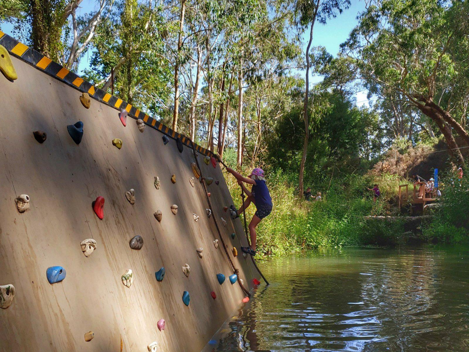 'Wade & Climb' Obstacle