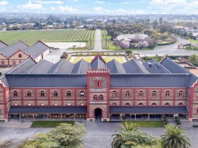 Chateau Tanunda From Above