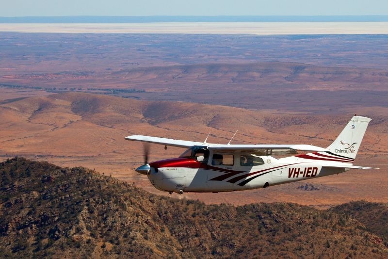 Scenic flight above Wilpena Pound and the Flinders Ranges