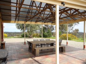 Clare View HOUSE - Outdoor area with views and bbq