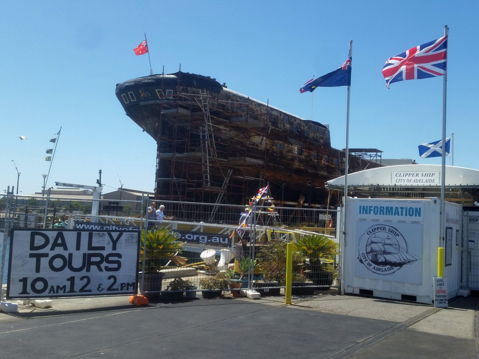 Ship and Visitor Centre