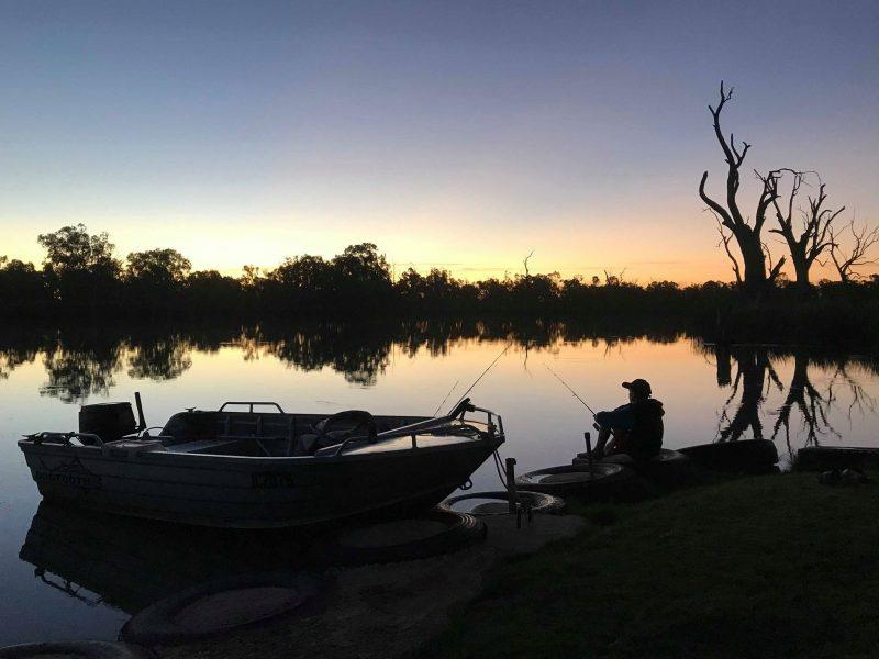 Fishing at Lagoon