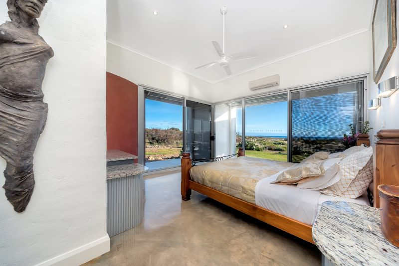 King Bedroom with Disabled Ensuite overlooking Beach