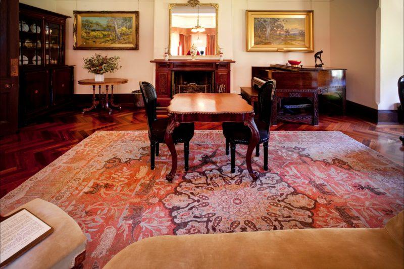 Homestead Drawing Room - Winter Breakfast Room