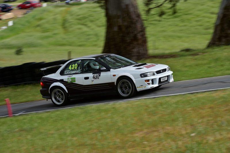 Subaru at Collingrove Hillclimb