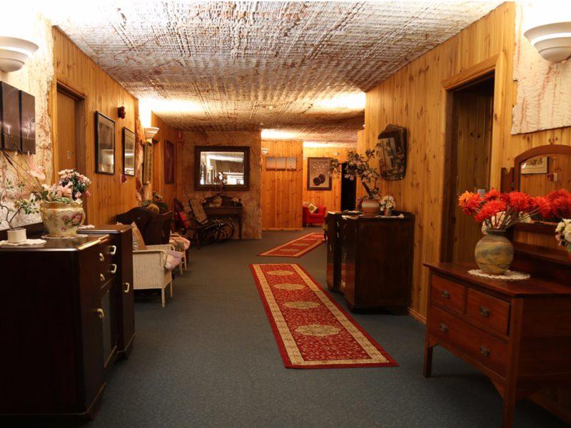 Original Hallway to Mine area