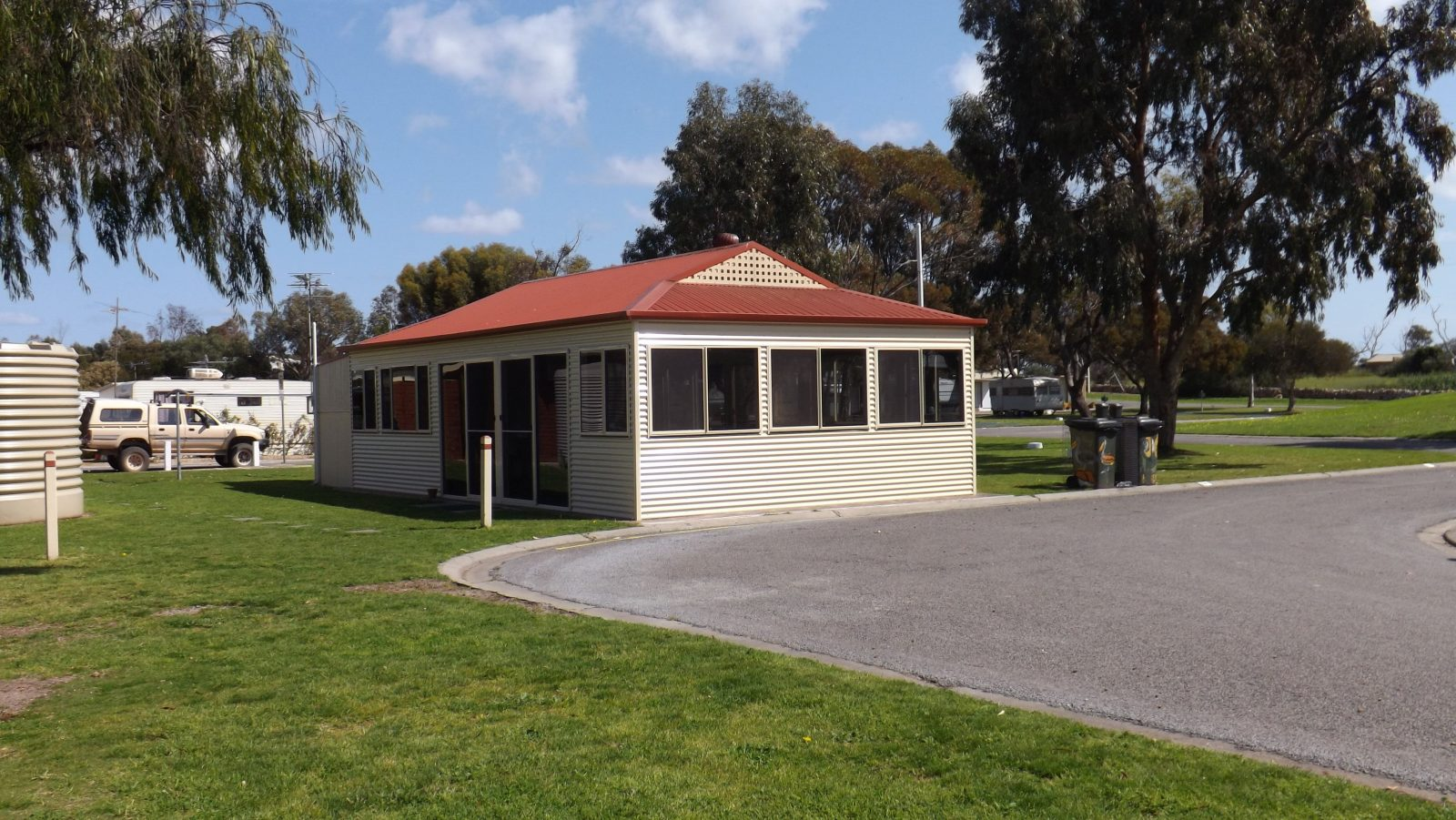 Camp ground kitchen available to all park patrons.