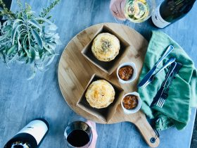 Beef and Cabernet pies