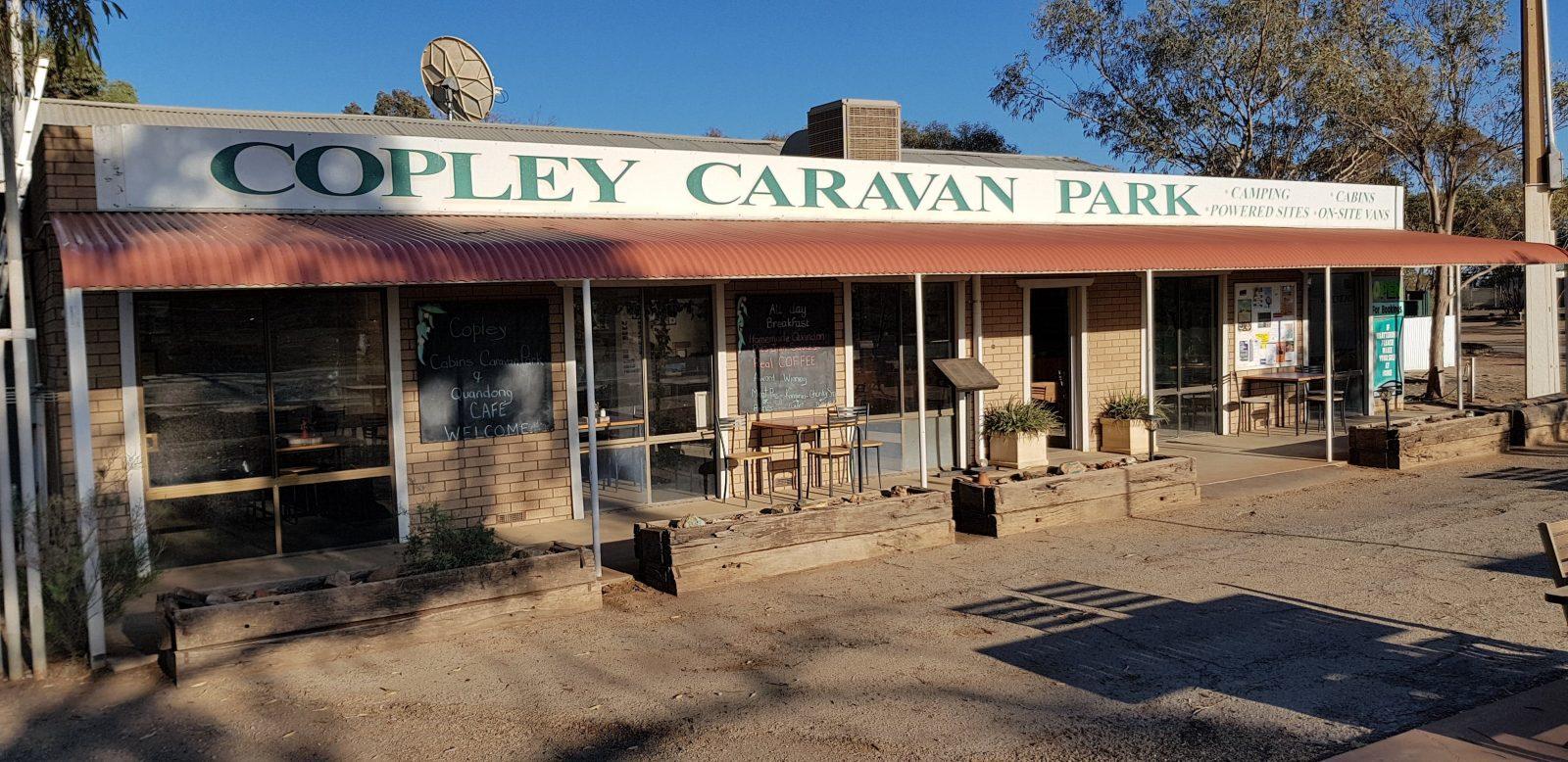 Copley Caravan Park & Quandong Cafe