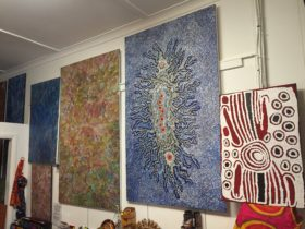 Aboriginal Art in the gallery space