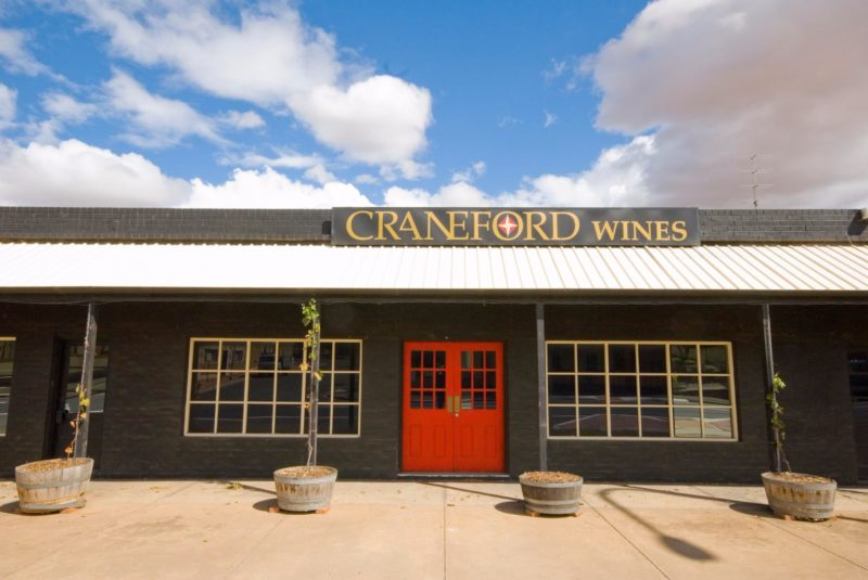 Front of Craneford Wines