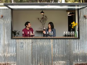 CRFT Wines cellar door - Frewin Ries & Candice Helbig