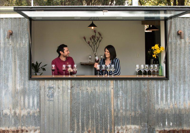 CRFT Wines cellar door - Frewin Ries & Candice Helbig