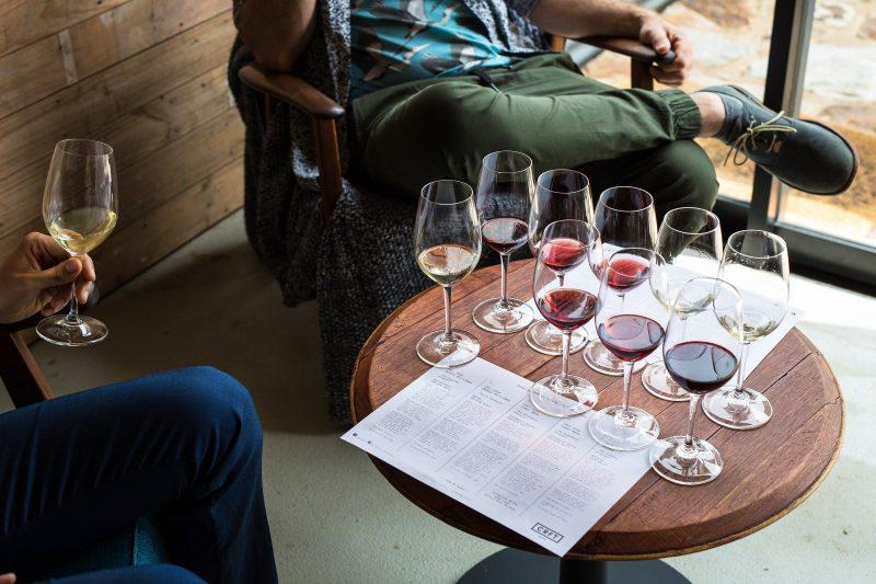 CRFT Wines - wine flight