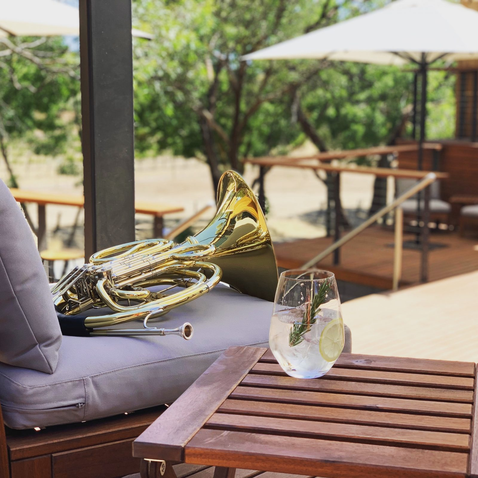 Relax with live music, Seppeltsfield Road Distillers gin and Barossa Street Food catering.