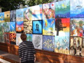 Delamere Art Wall