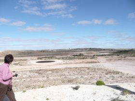 Golf Course-Desert Cave Tour, Coober Pedy, South Australia