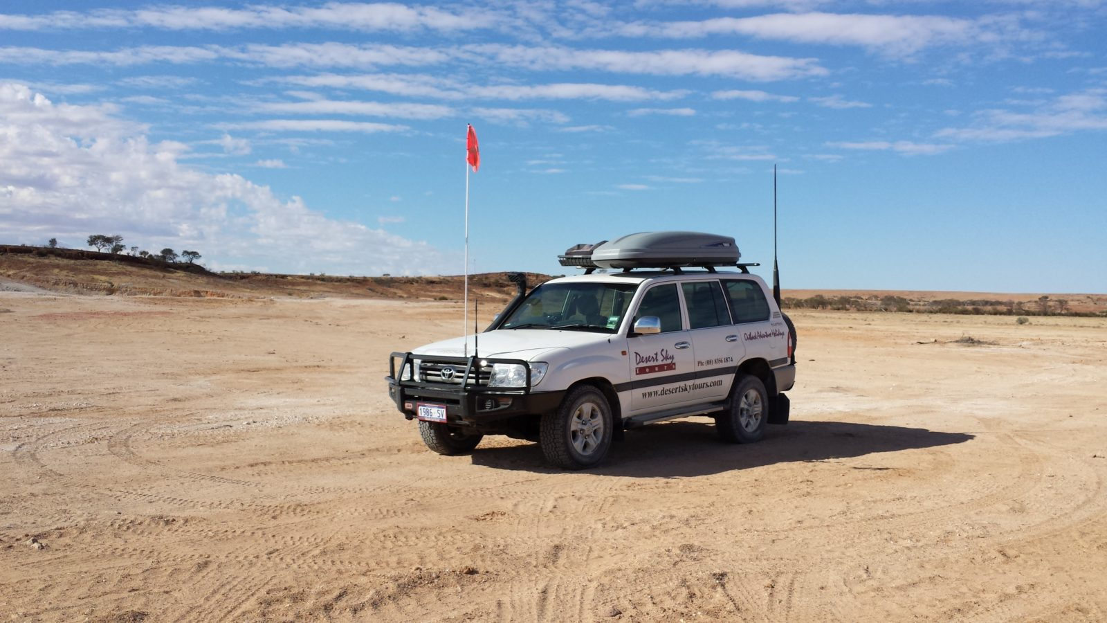 Desert Sky Tours Vehicle