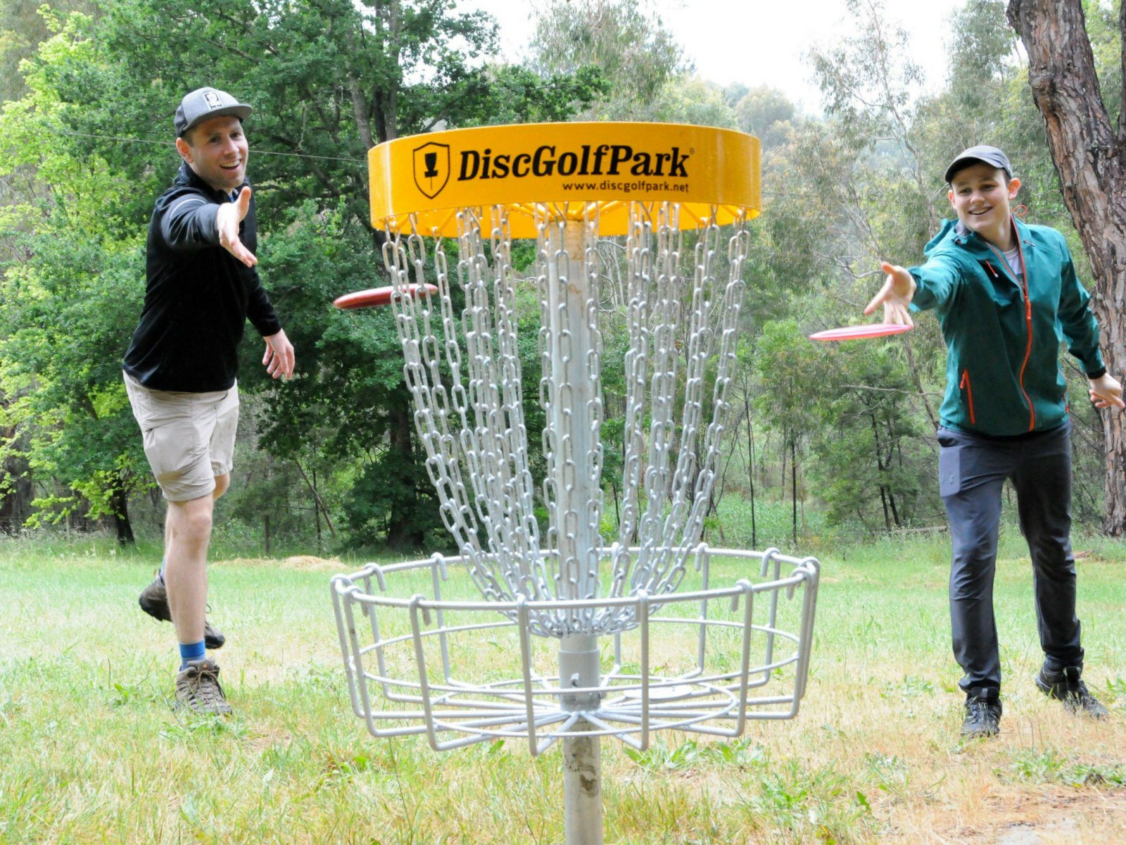 Treasurer and President of SA Disc Golf Association