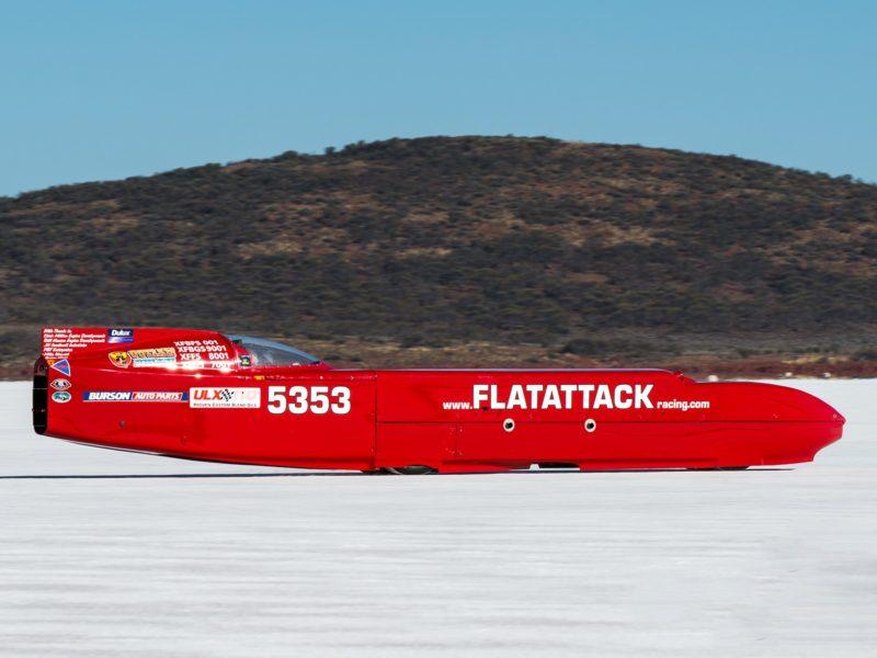 Streamliner at DLRA Speed Week