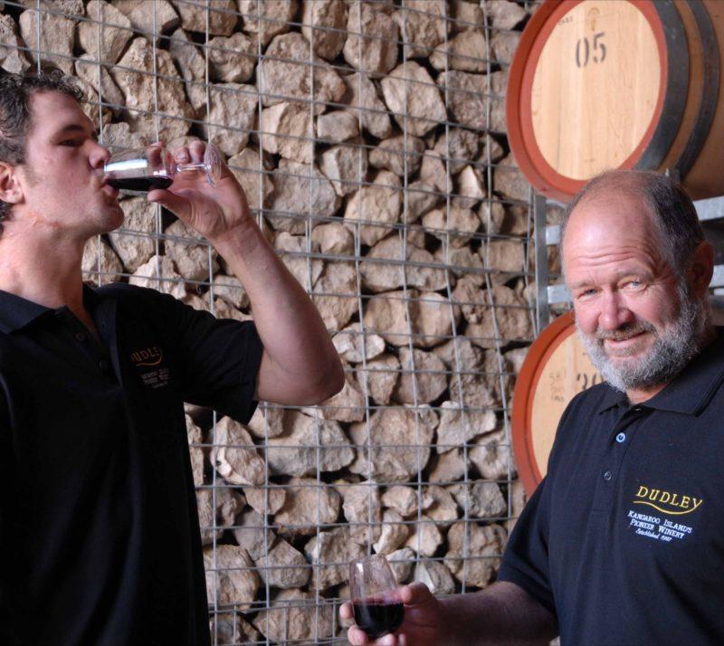 Brodie & Jeff Limestone Cellar