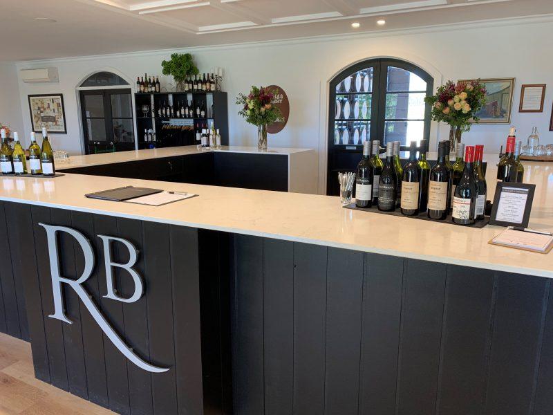 Tasting bar at Rolf Binder Cellar Door