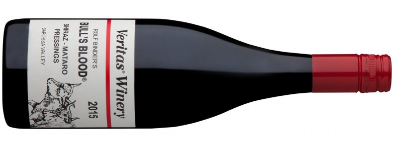 The signature 2015 Bull's Blood Shiraz Mataro to be released Easther Weekend at Rolf Binder