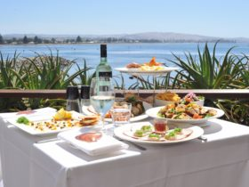 Eat local, enjoy our spectacular views!