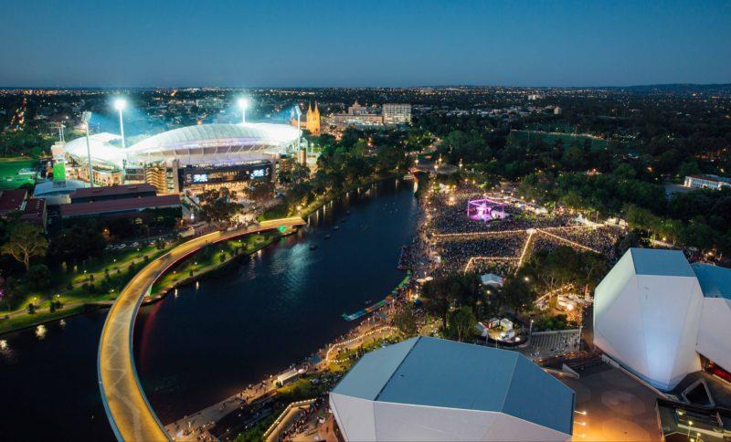 Adelaide Oval, Elder Park, Celebration